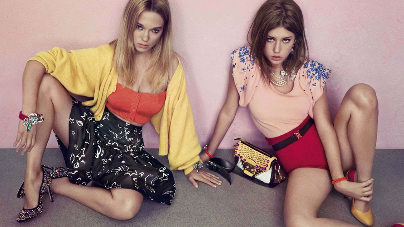 Blue Is The Warmest Color Actresses Now Modeling For Miu Miu