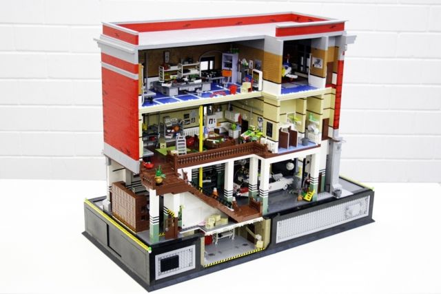 Lego Ghostbusters Hq At Leslie Lippi Bean Wouldnt Jason Love This