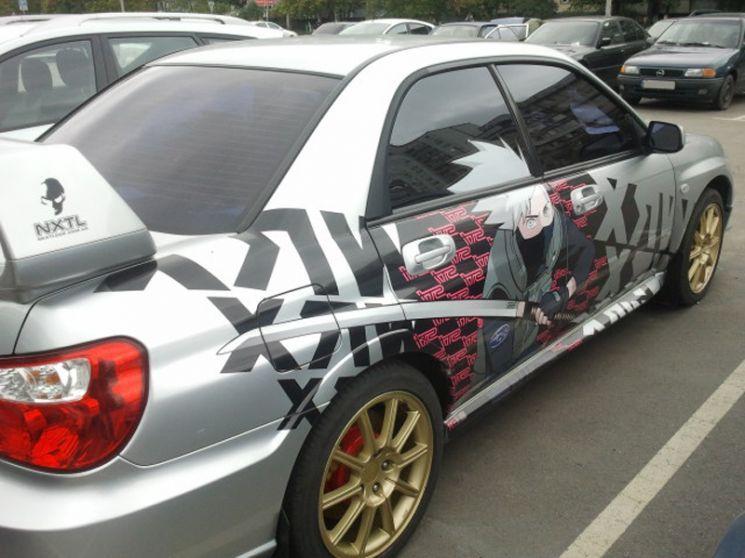 Merveilleux Photo Album: #Subaru #Impreze #WRX #STI With #Anime