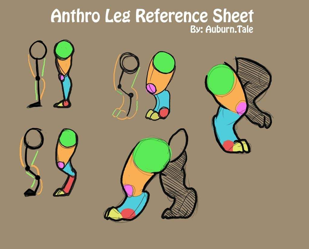 More leg reference | Furry Amino