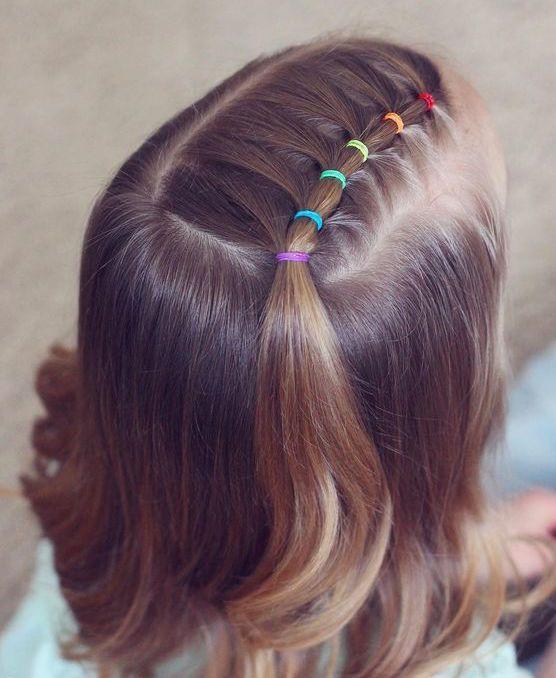 Hairstyle Braided Hairstyle Children Kids For School Little Girls Children S Hairstyles For Long Hair Cute Little Girl Hairstyles Baby Hairstyles Hair Styles
