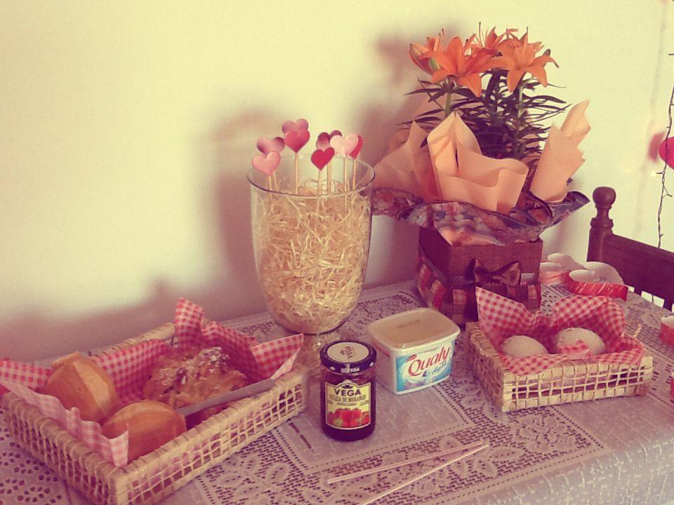 Mesa de café da manhã!