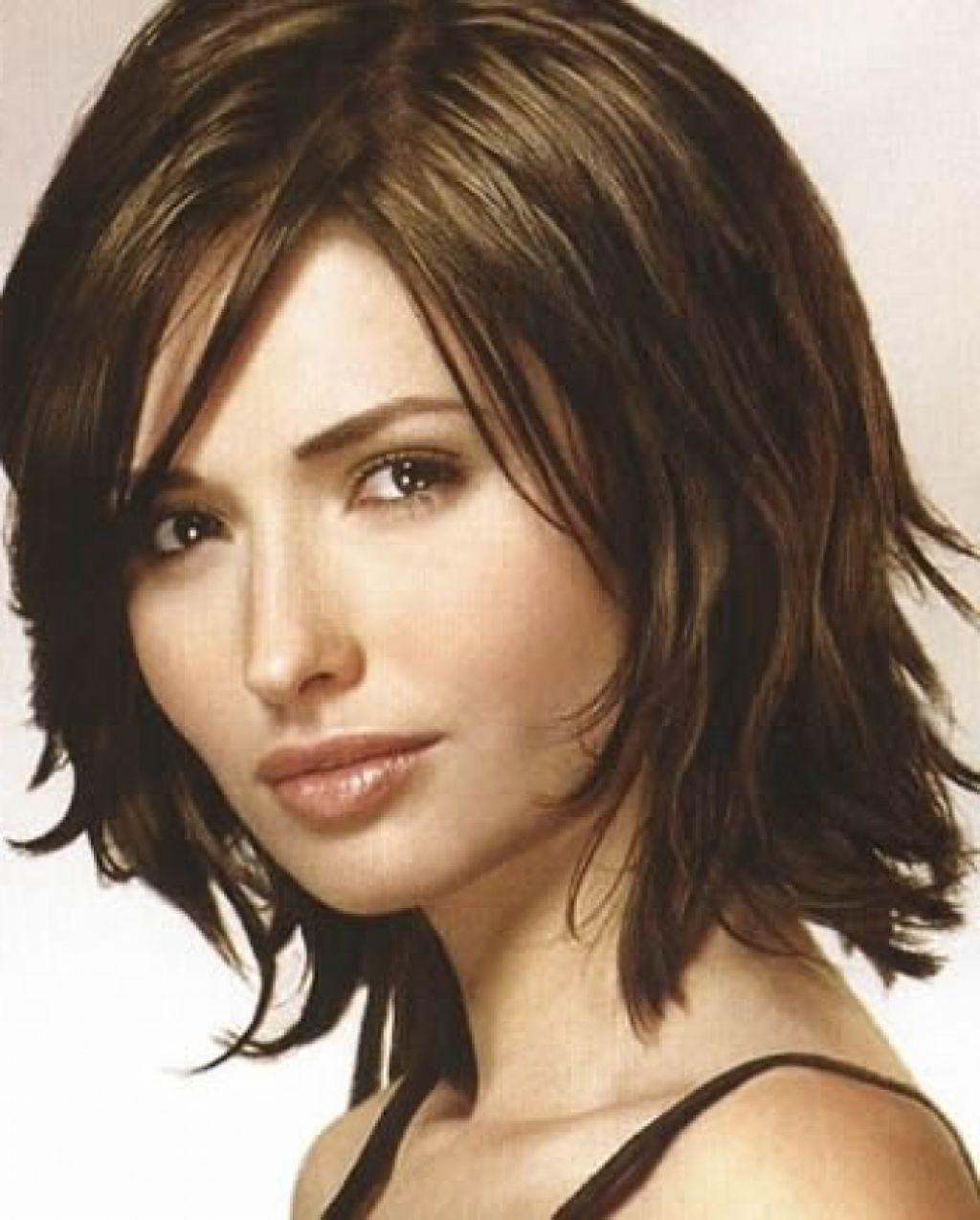 Superb Medium Length Layered Hairstyles For Fine Hair Locks Pinterest Hairstyles For Men Maxibearus