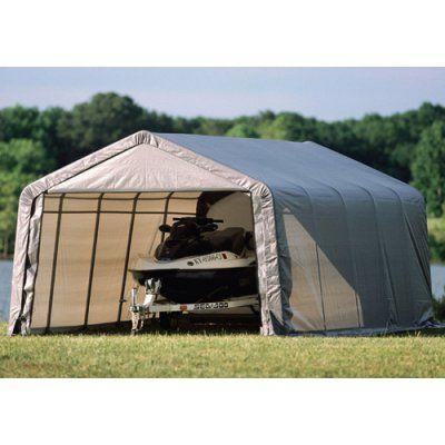 huge selection of 03934 af896 ShelterLogic 12 x 20 x 8 ft. Instant Garage Heavy Duty ...