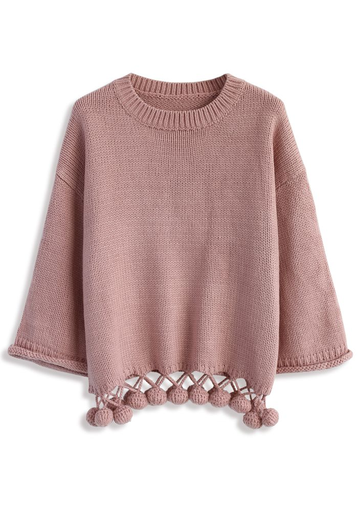 Bouncing Fun Sweater in Pink - New Arrivals - Retro, Indie and ...