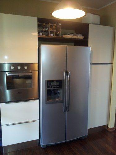 Risultati immagini per cucina con frigorifero americano | La nostra ...