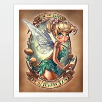 This speaks to me in so many ways...  Art Prints by Tim Shumate | Society6