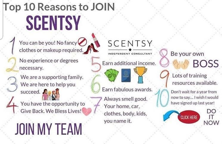 10 Reason to Join My Team Join scentsy, Scentsy, Scentsy