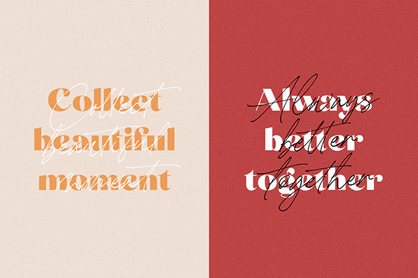 Carneys Gallery Font Duo on Behance di 2020