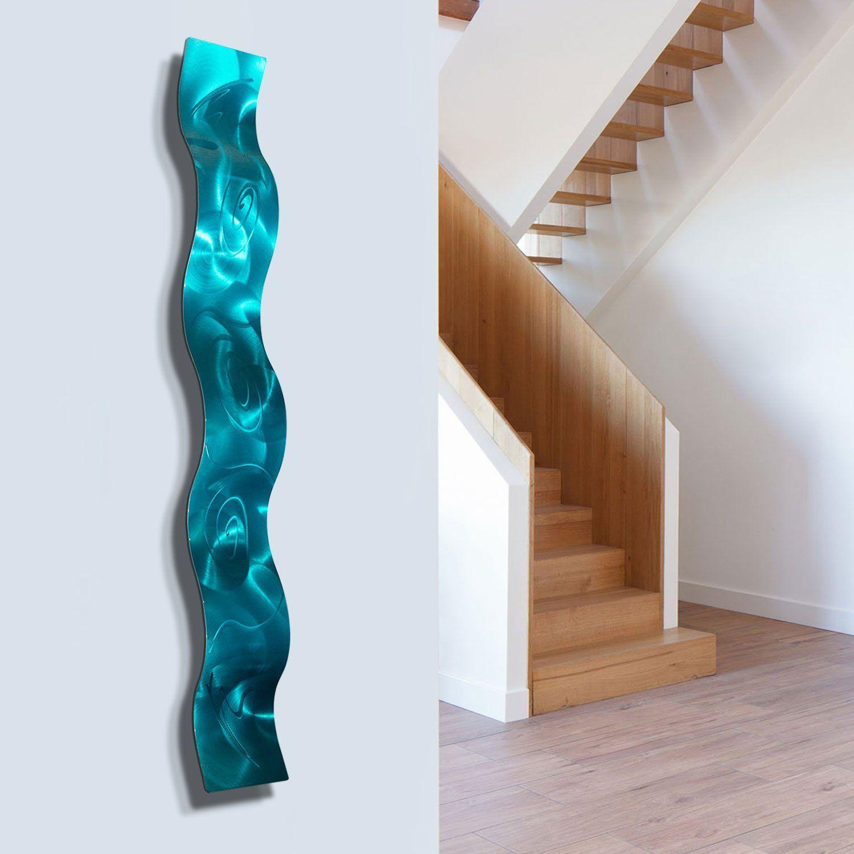 Statements2000 3D Metal Wall Art Abstract Accent Sculpture by Jon Allen