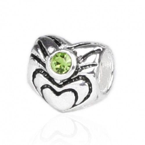 Pandora A-Series Silver Bead With Stone(Promo PA76148R)