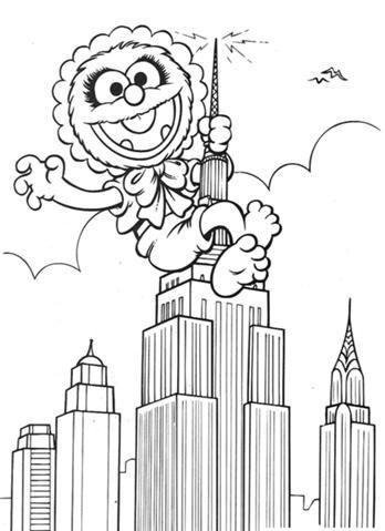 Image New York Jpg Muppet Wiki Baby Coloring Pages Disney Coloring Pages Coloring Pages