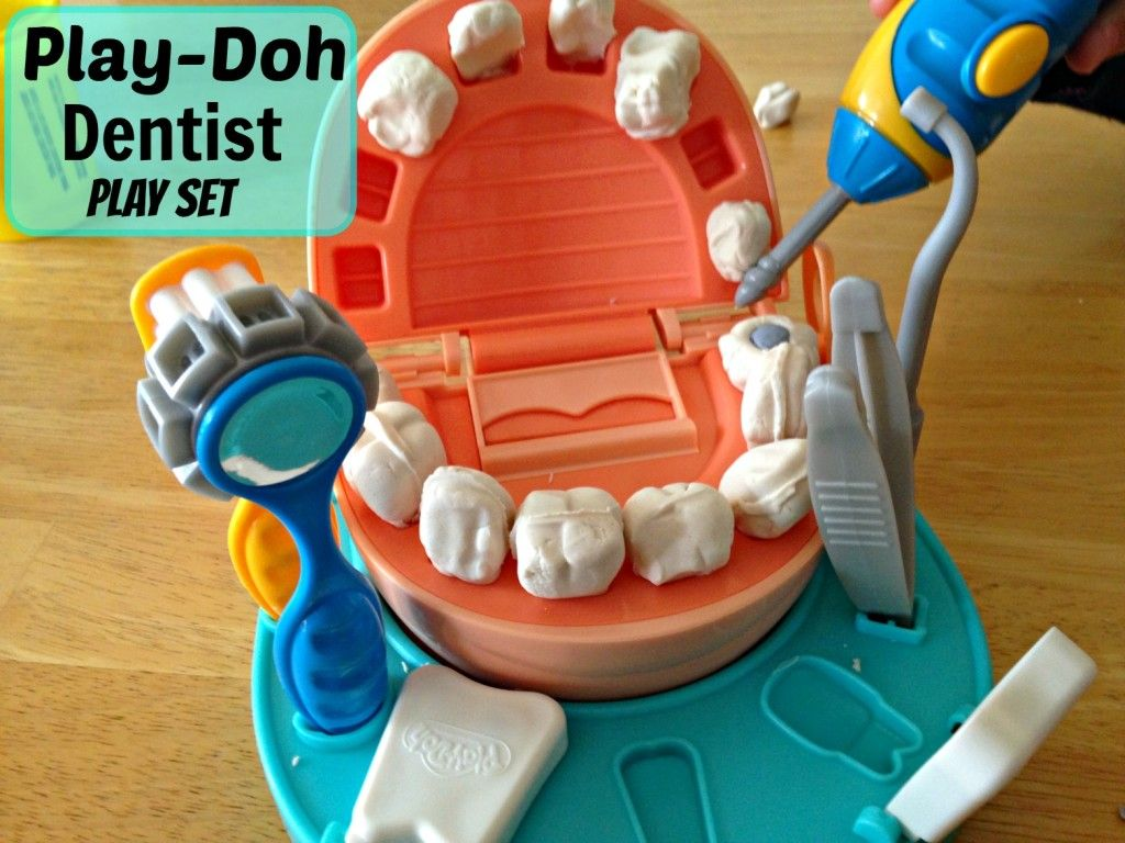 The Play Doh Dentist Playset Introduces Kids To The