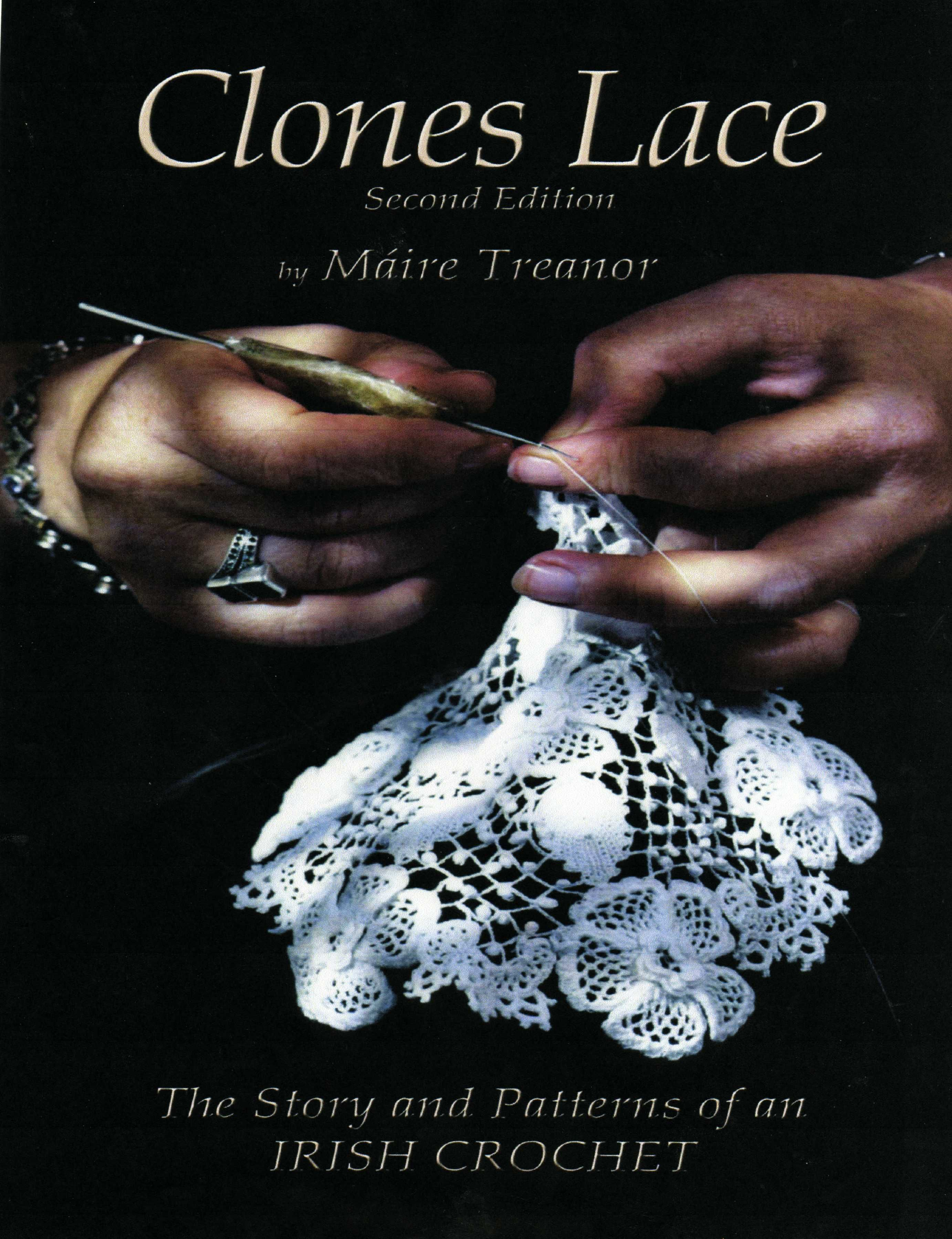 Clones lace the book crochet crochet lace and crochet books patterns bankloansurffo Image collections