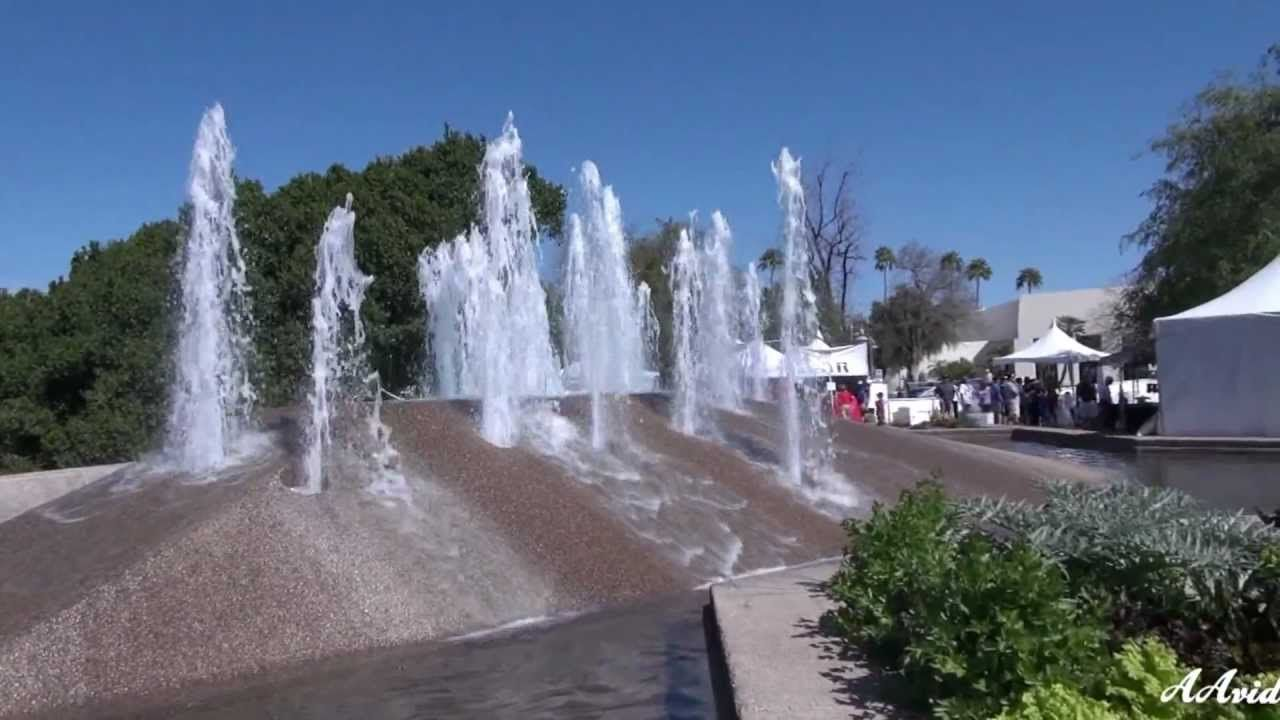 A video of Old Town Scottsdale, AZ