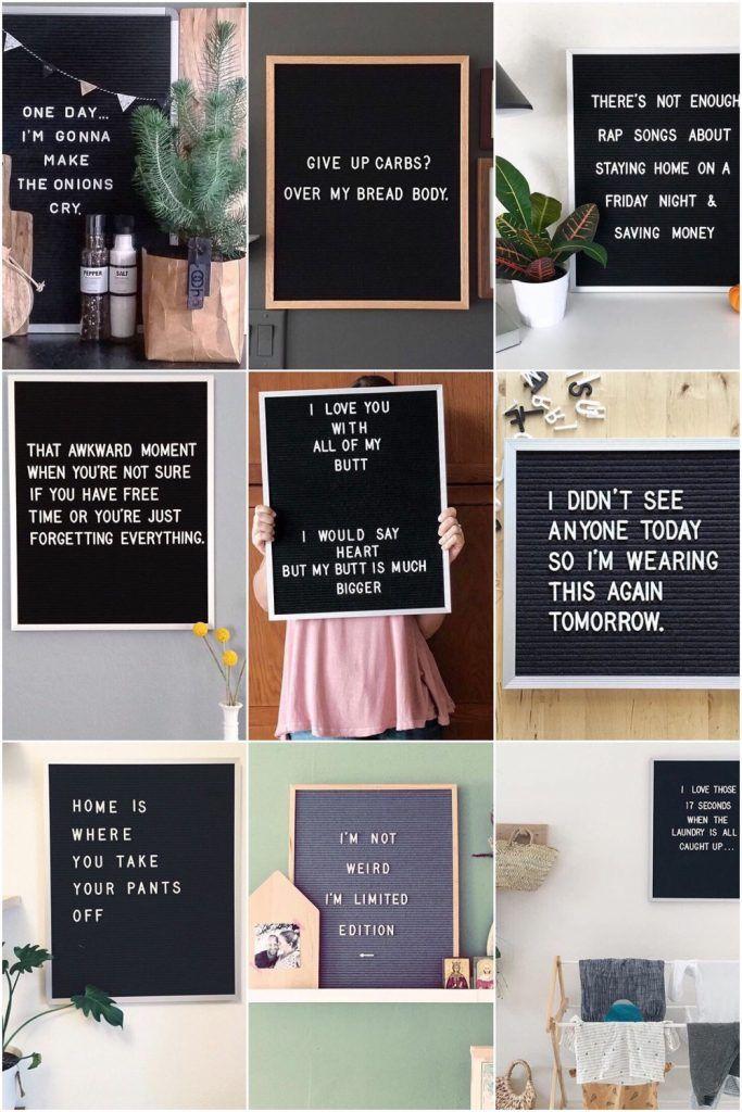 15 x de leukste letterbord quotes 15
