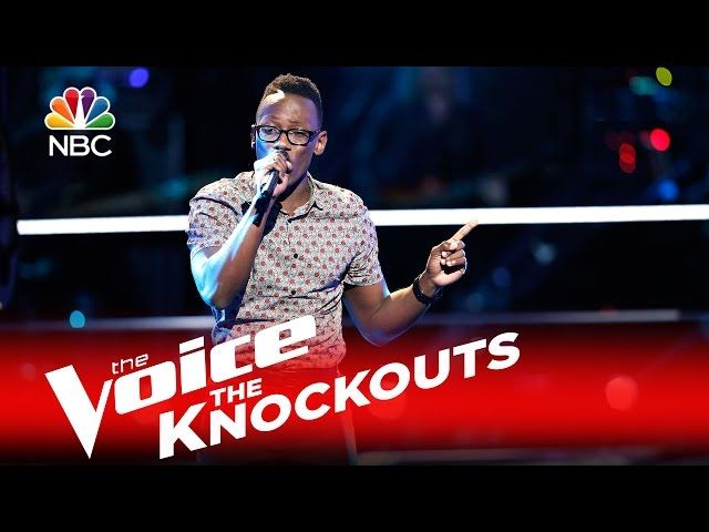 """The Voice 2016 Knockout - Brian Nhira: """"Grenade"""""""