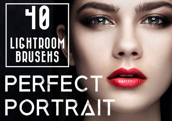 40 Lightroom Portait Brushes