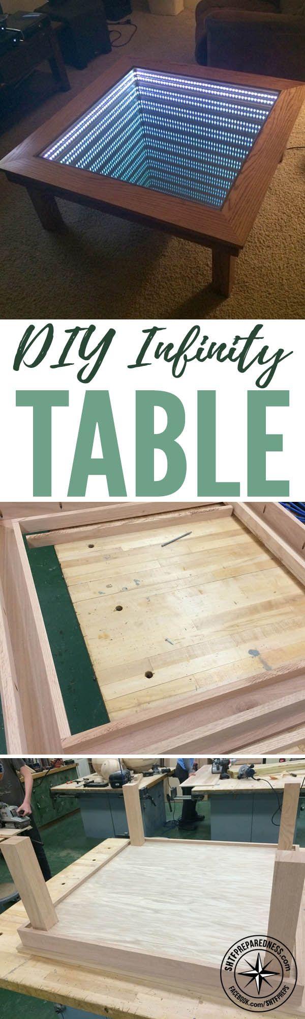 DIY Infinity Table u2014 DIY woodworking projects