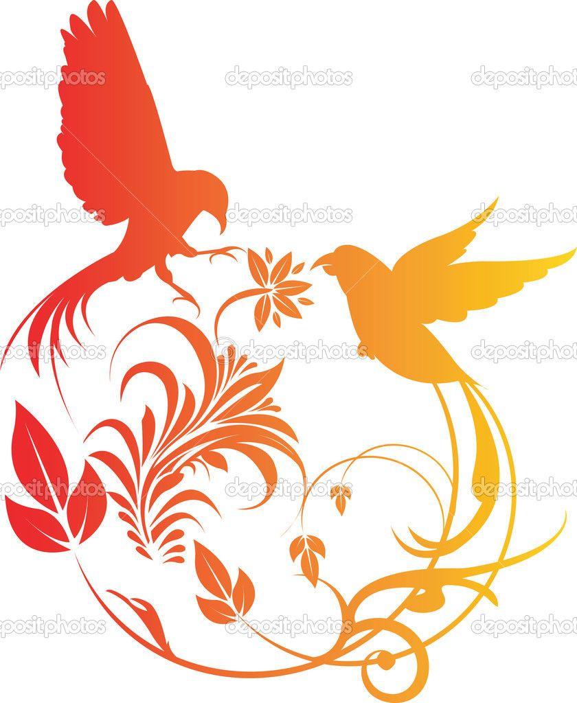 Трафареты шаблоны картинки векторные птицы: 17 тыс ...