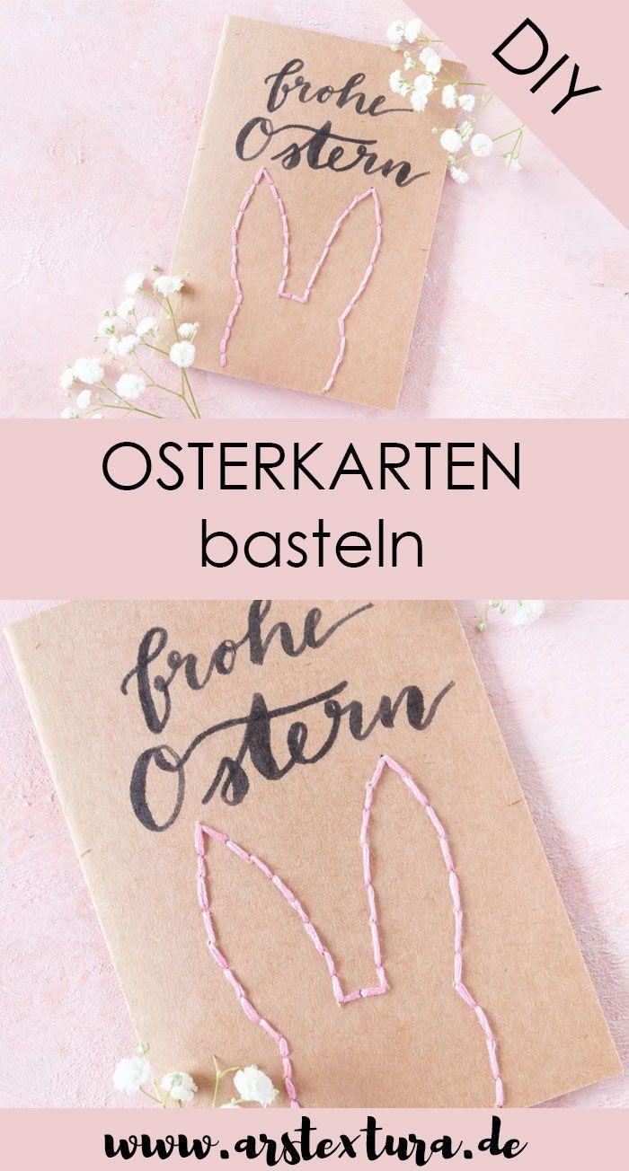 Osterkarten basteln | ars textura – DIY-Blog