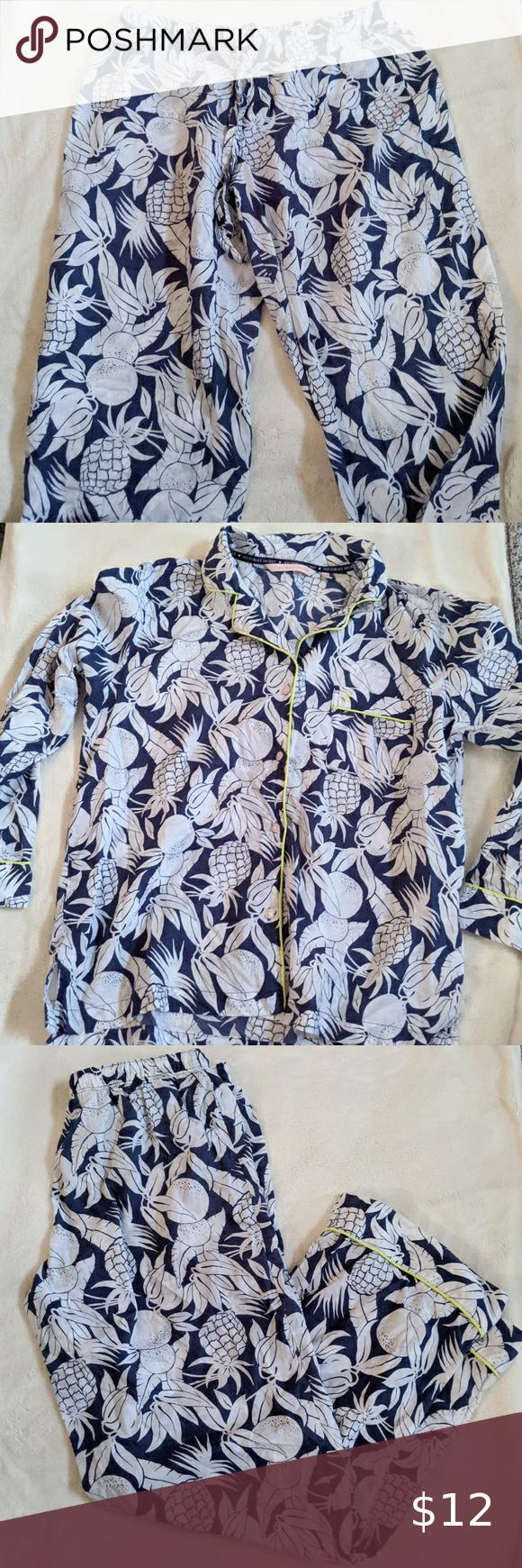 Victoria's Secret printed pajama set in 2020 Print