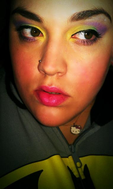 Nicki Minaj makeup Follow my blog for more looks