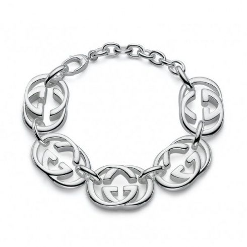 8fb6144a53d1 Gucci Ladies Sterling Silver Bracelet now available at Keswick Jewelers in Arlington  Heights, IL 60005 www.keswickjewelers.com
