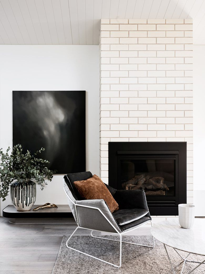 Balaclava residence melbourne 2016 we are huntly fireplaces find this pin and more on fireplaces minimalist living room with a subway tile fireplace doublecrazyfo Choice Image