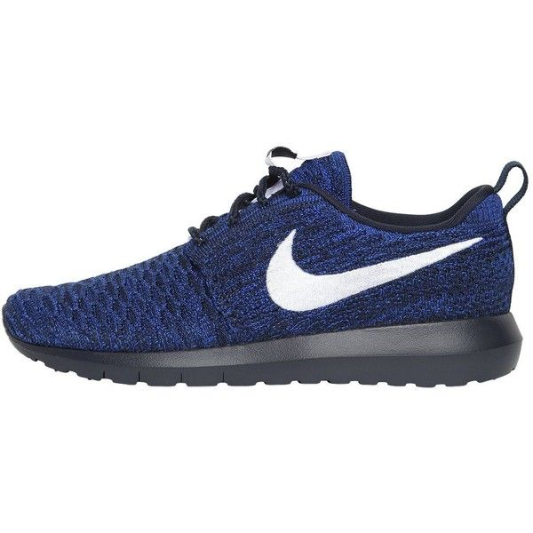 e0ef77cc528c3 Nike Women Roshe Nm Flyknit Sneakers ( 110) ❤ liked on Polyvore featuring  shoes