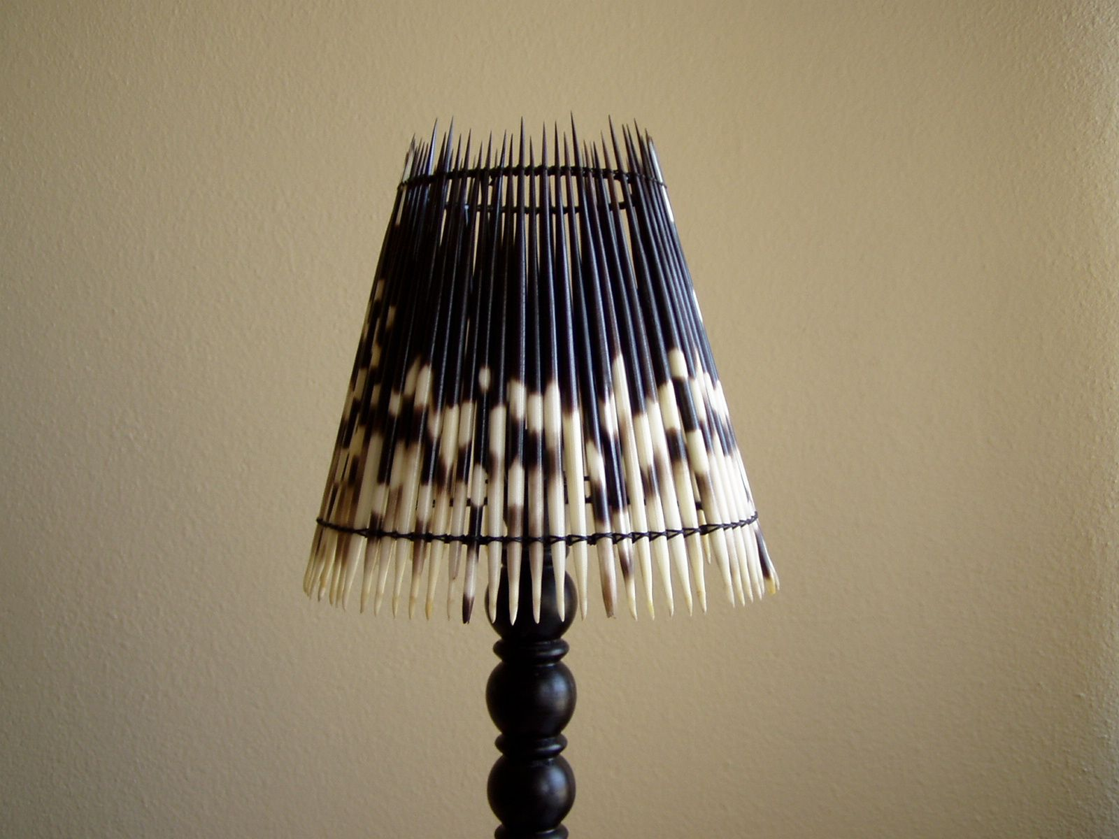 LAMPS Porcupine quill lamp shade Available online