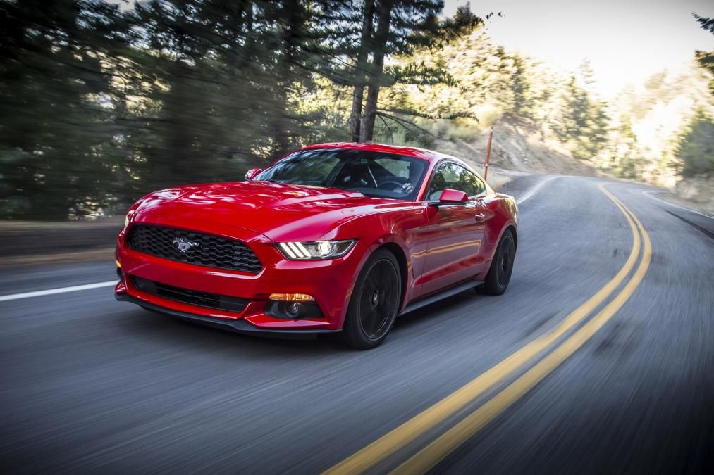 Ford Mustang front