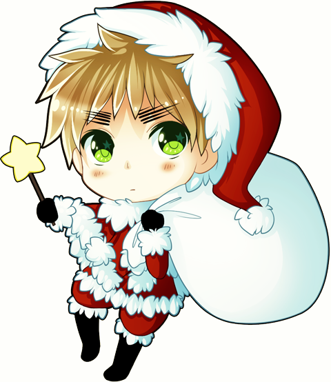 Christmas chibi 31.media.tumblr.com | Holidays | Pinterest | Chibi ...