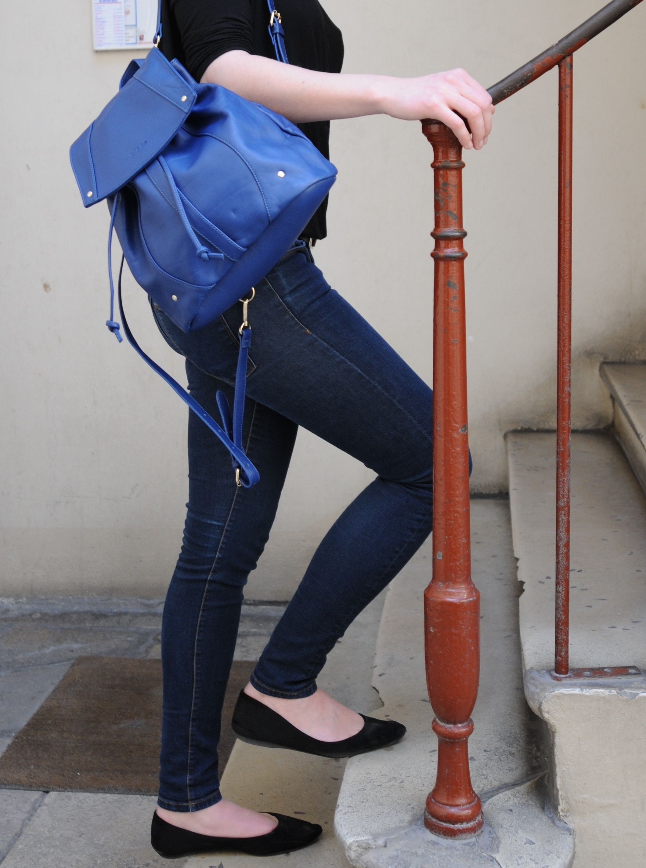 The backpack has really become a must have ! Check out the .Kate Lee CORALY style, such a chic and feminine one. You can either choose cow leather or sheep leather and pick your favorite color among 9 different colors! Which one will it be for your ?   #katelee #bag #design #backpack