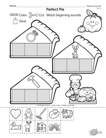 Serve Up Some Beginning Sound Practice With This Phonics Worksheet