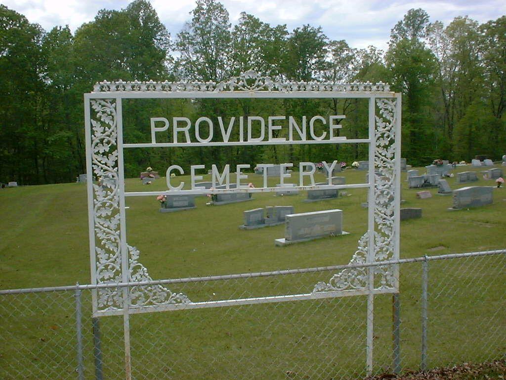 Providence Cemetery in Grenada County, Mississippi