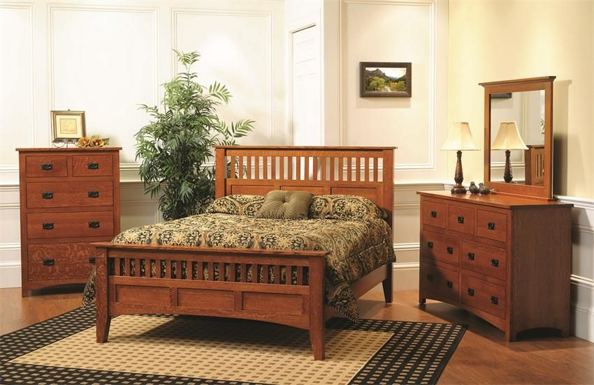 Ordinaire Premium Siesta Mission Bedroom Set In Cherry Or Quarter Sawn White Oak  Troyer Ridge Bedroom Collection The Center Of Your Morning Routine And The  Heart Of ...