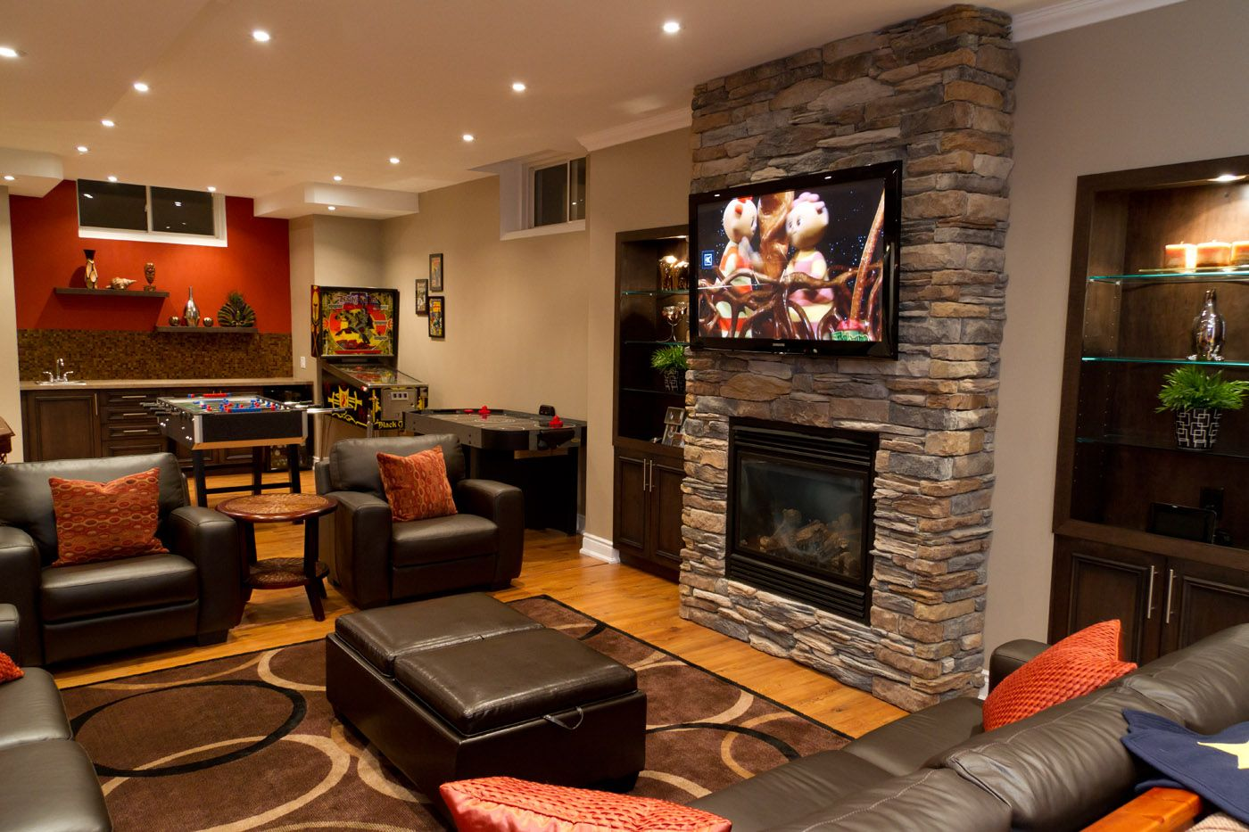 Basement Living Room Designs Extraordinary Basement Playroom Ideas  Finished Basement Basement Renovations Decorating Design