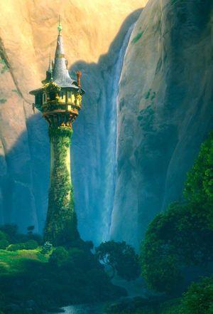 ラプンツェル 上 塔 の の
