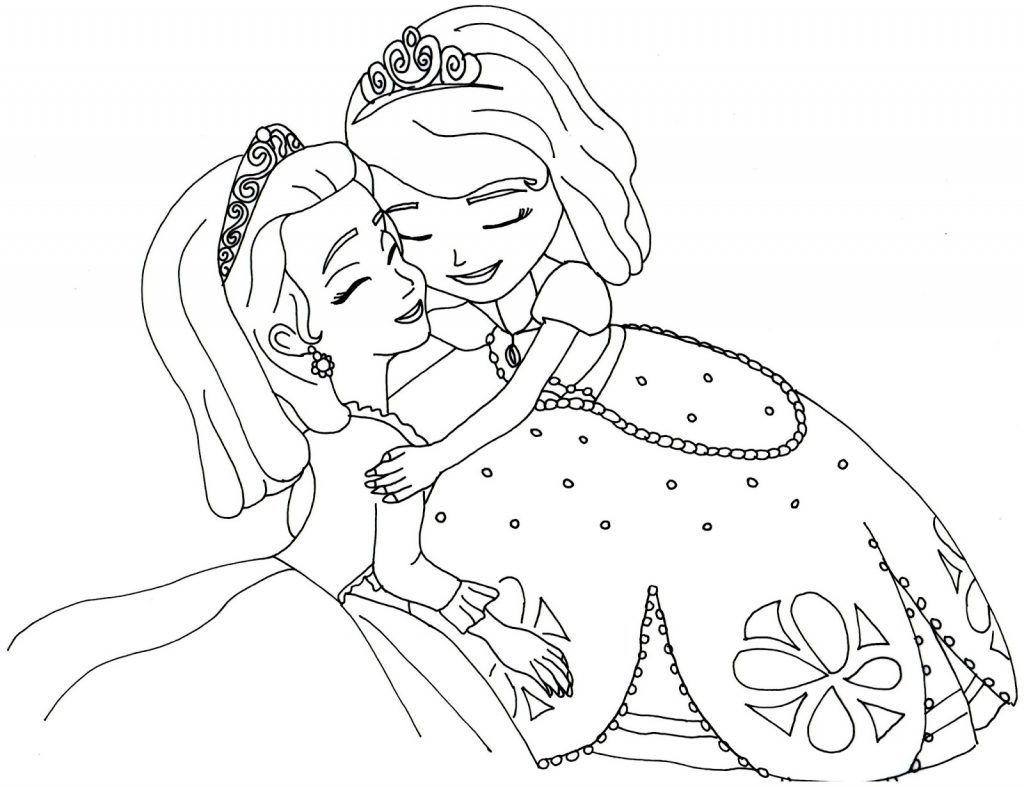 Princesa Sofia Com Imagens Paginas Para Colorir Desenhos Para