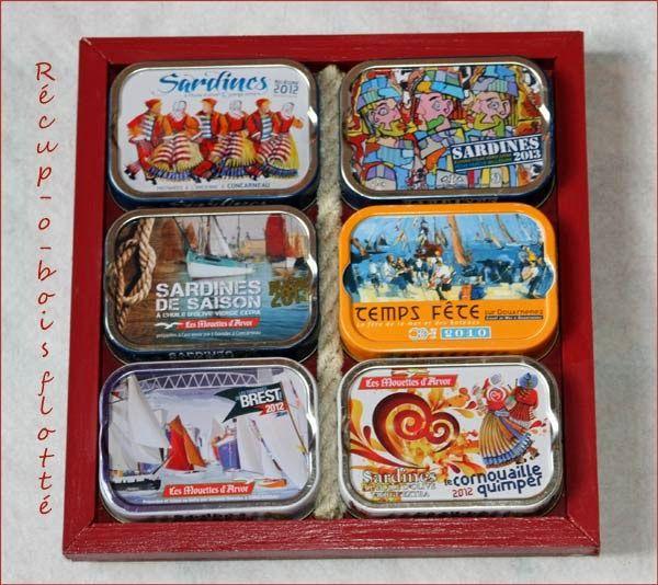 Un Dessous De Plat Avec Des Boites De Sardines Boite De Sardine
