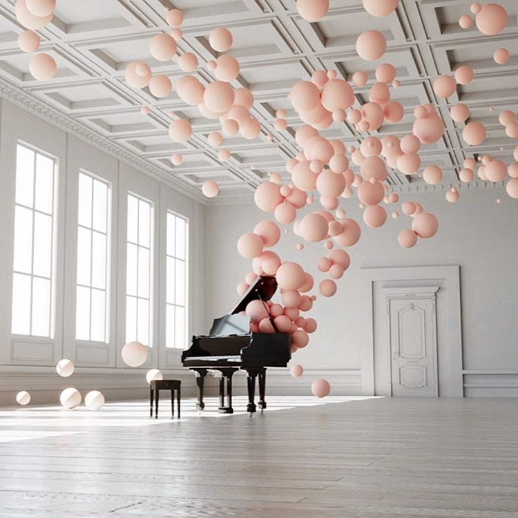 """If my dreams were an art installation it would be this one by @federico_picci. In his series…"""""""