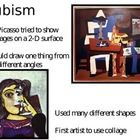 This 18-page PowerPoint is all about Picasso! It includes three different sets of images to compare and contrast with venn diagrams or short-respon...