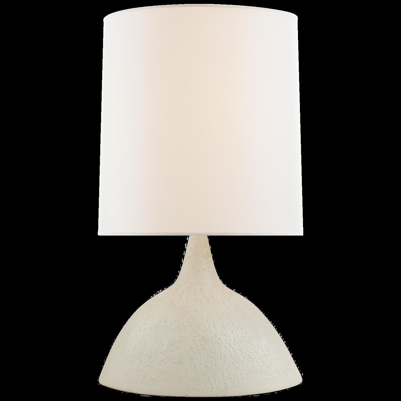 fanette large table lamp in marion white with linen shade lighting rh pinterest com
