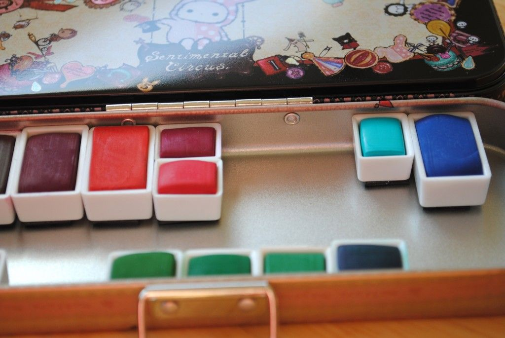Paint Party Friday And Diy Watercolor Set Watercolor Kit