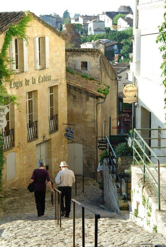 Saint Emilion village