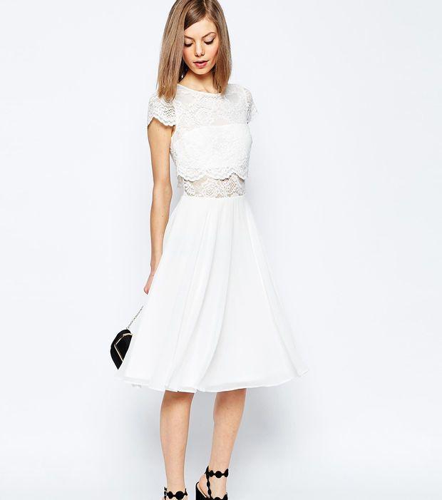 Kleid für's Standesamt von Asos (mit Bildern) | Kleid ...