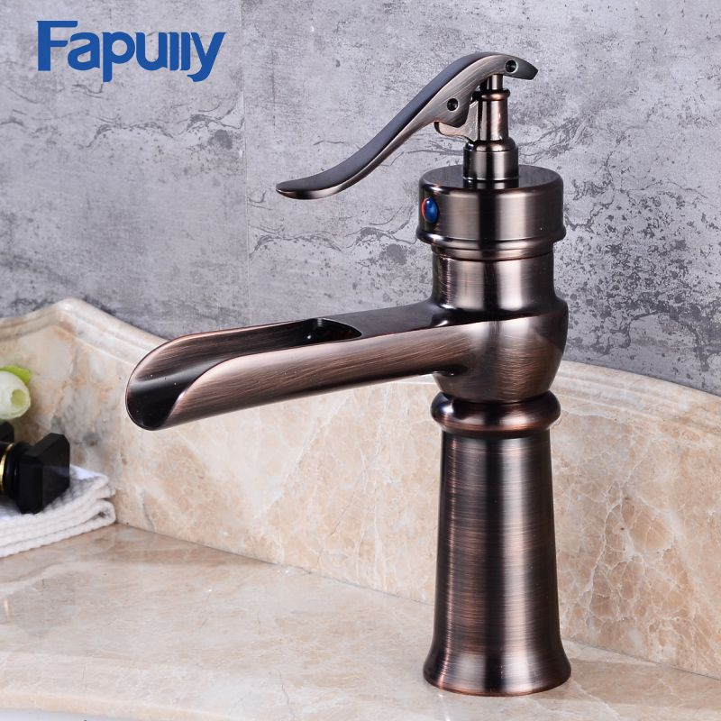 Fapully Wholesale And Retail Changing Waterfall Bathroom Faucet ...