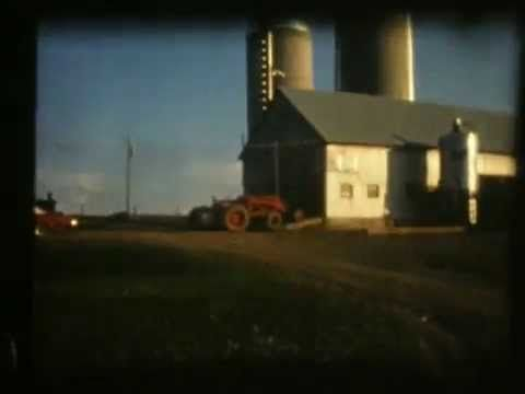 La ferme à Gilles Proulx MOnt-Lebel dans les années 70.