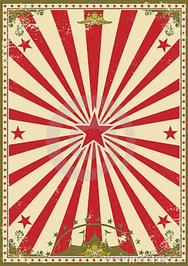 circus flyer background - photo #8